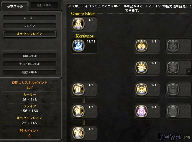 Oracle Elder Skill Build 3